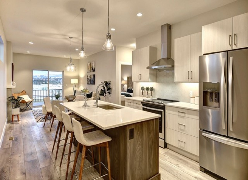Open Concept Kitchen & Dining